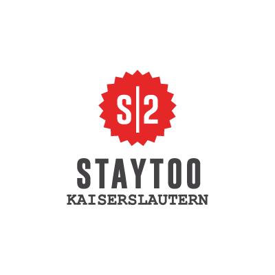 staytoo apartments kaiserslautern logo in red