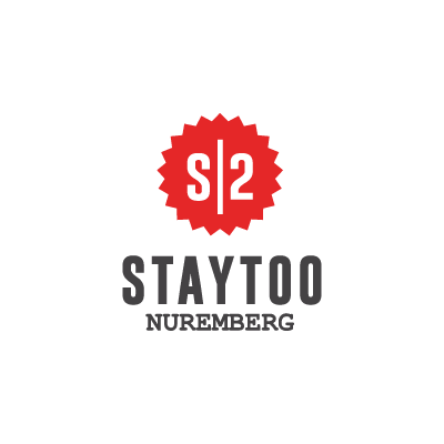 staytoo apartments nuremberg logo in red