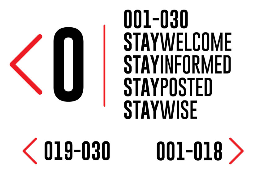 SPX Agency Work: StayToo signage