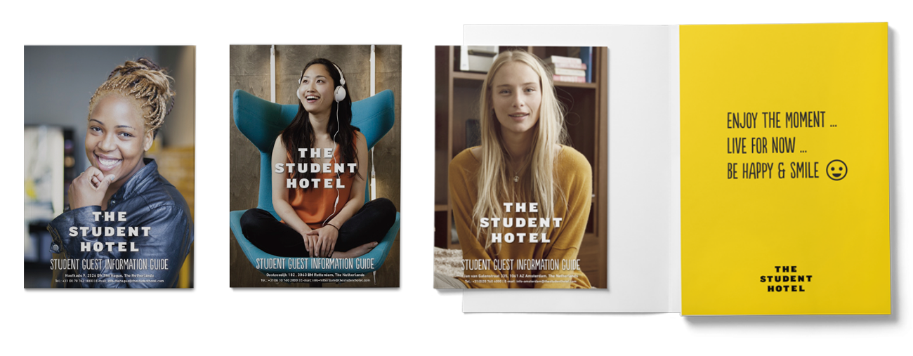 the student hotel promotional posters