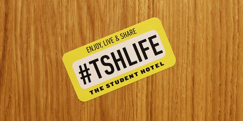 SPX Agency: The Student Hotel #TSHLIFE Sticker