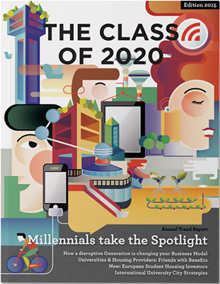 the class of 2020 magazine 2015 edition cover design by spx