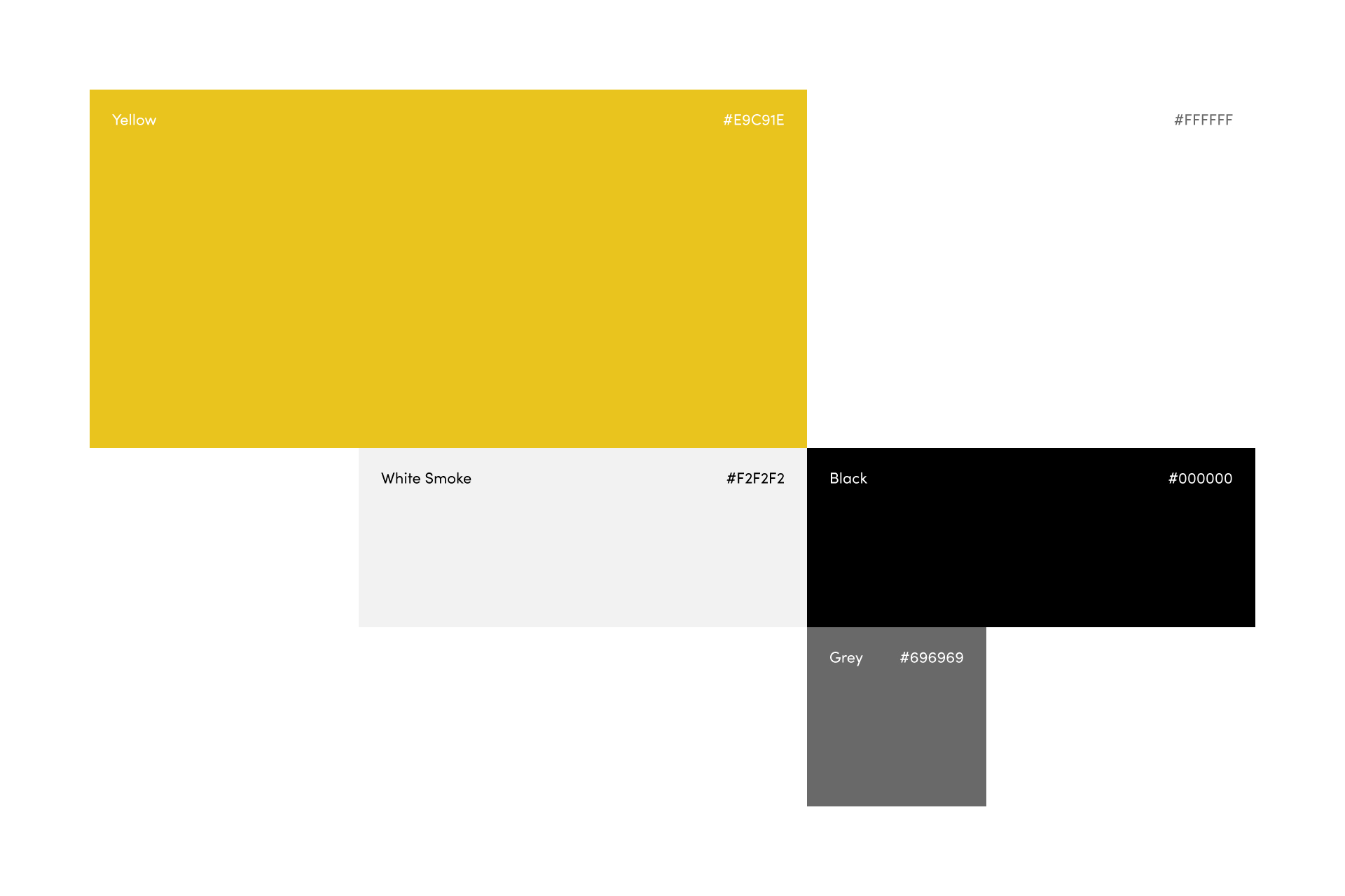 Art of Co brand identity: colour palette by SPX Agency