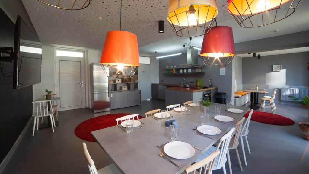 SPX Agency: Coliving Movement, open space dining room
