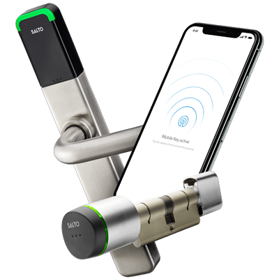 SALTO KS Smart Lock and Mobile Key