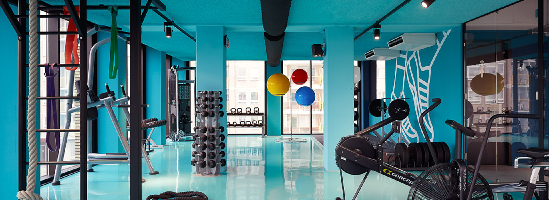 The Student Hotel Blue Gym