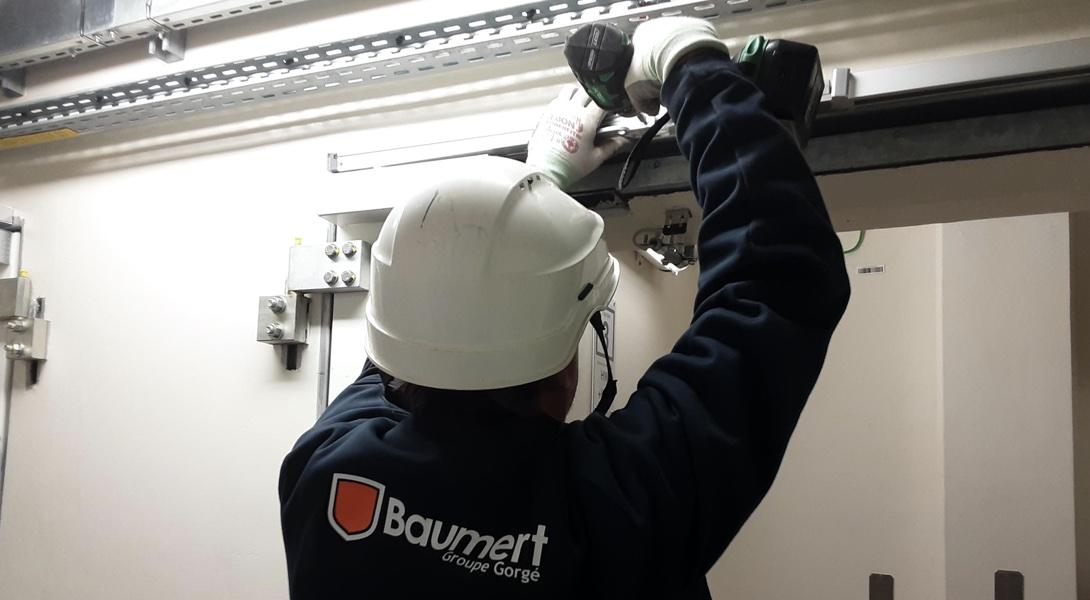 Maintenance Baumert des portes techniques et des trappes techniques dans le secteur du nucléaire