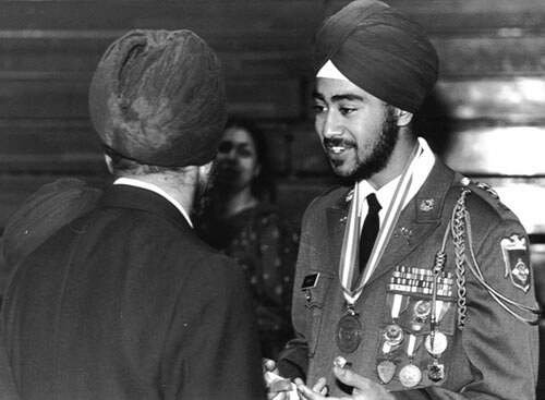 Ravi is the first Sikh to attend a military academy JROTC while also wearing a turban in the United States. Ravi received expert marksman for shooting. He was a member of the Panther Reconnaissance Unit. He was captain of the High School Golf Team and graduated with full JROTC military honors as 2nd Lieutenant. Legislation was introduced and Ronald Regan signed it into law. It was later overturned, but Ravi and his family did not give up trying. At last, an exception was made and he was allowed to graduate with full military honors by the Secretary of Defense.