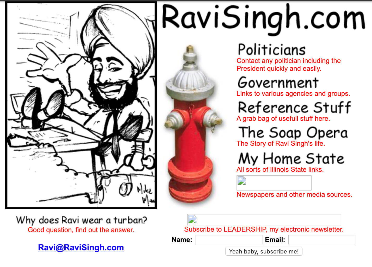 RaviSingh.com is launched