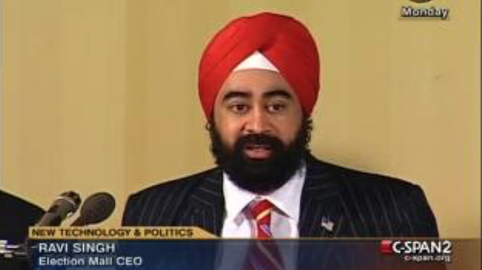 CSPAN Ravi Singh talks about Fake Content & Cloud Computing