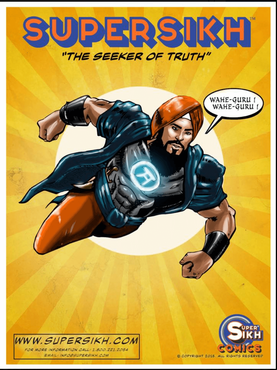 "Super Sikh and his team of Atma Defenders fight the Death ""Kal"" in the hopes of winning salvation for humanity. His diverse and global team of defenders use their meditative powers to fight the five thieves of Lust, Greed, Anger, Attachment, and Ego."