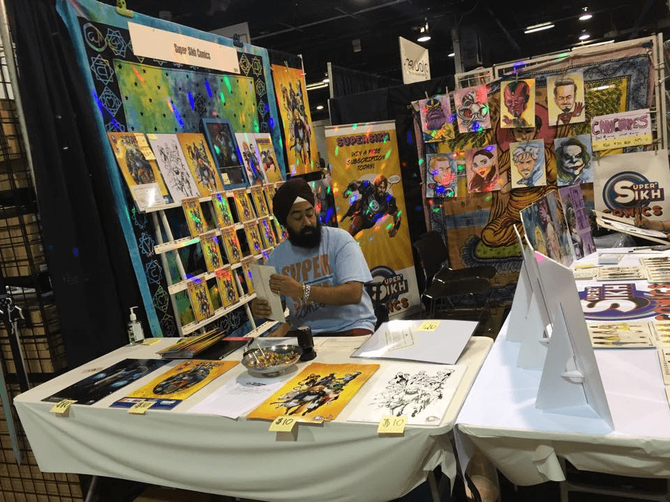 Sikh Comics by Ravi Singh hits the road