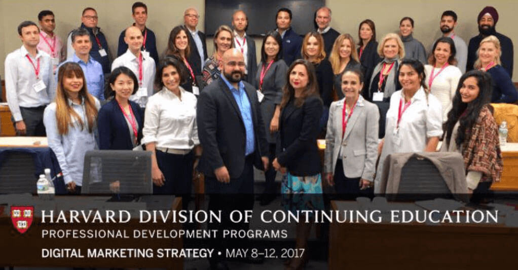 Ravi Singh attends Harvard Digital Marketing Strategy Extension School