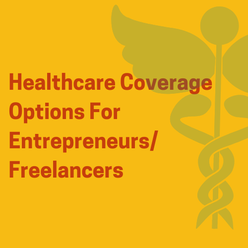 healthcare options for entrepreneurs graphic