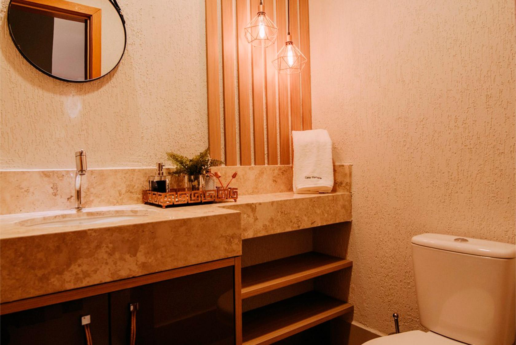 Banheiros - Conceito Italínea Móveis Planejados em Canoas