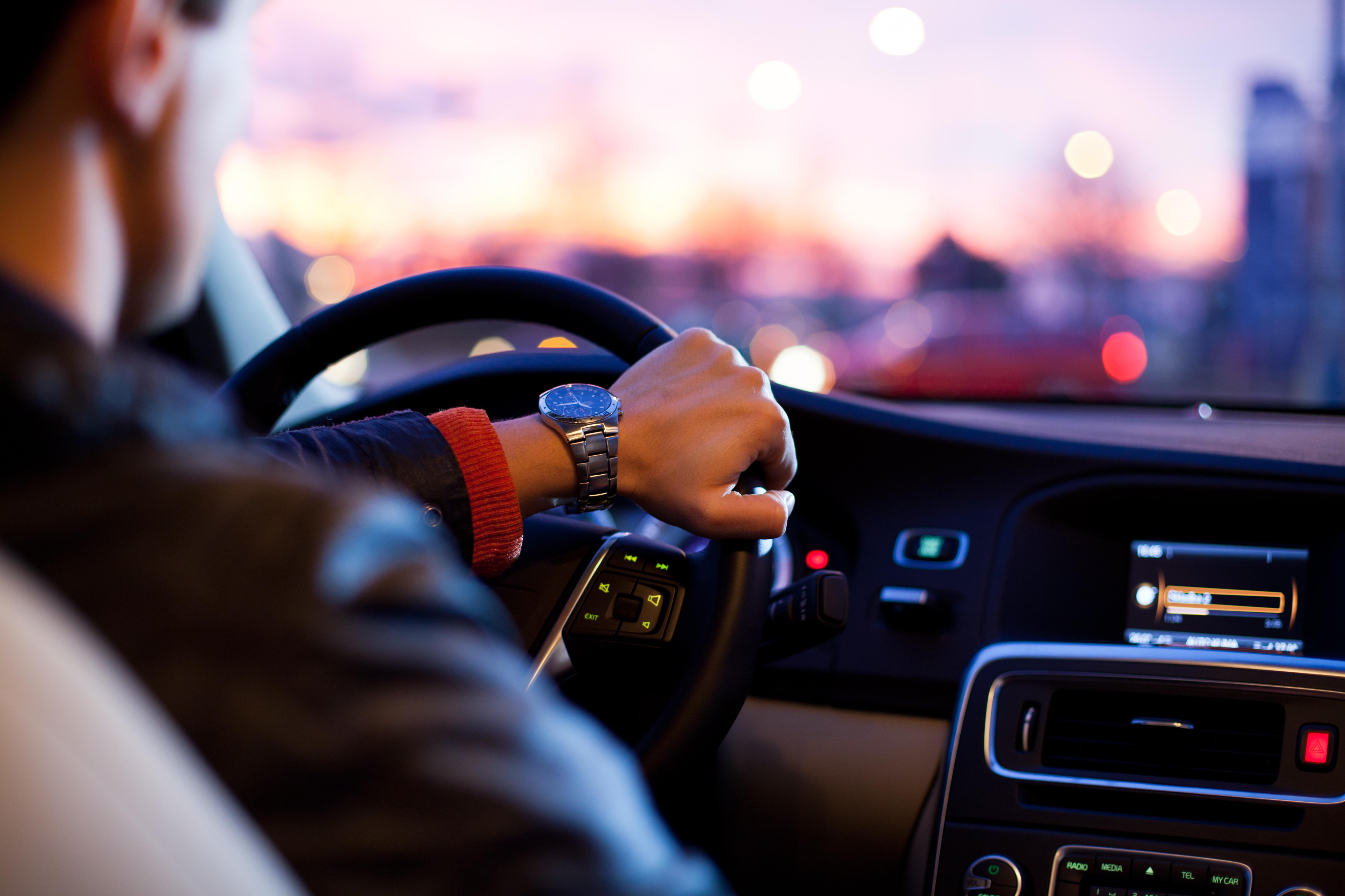 Probefahrt mit einem Gebrauchtwagen