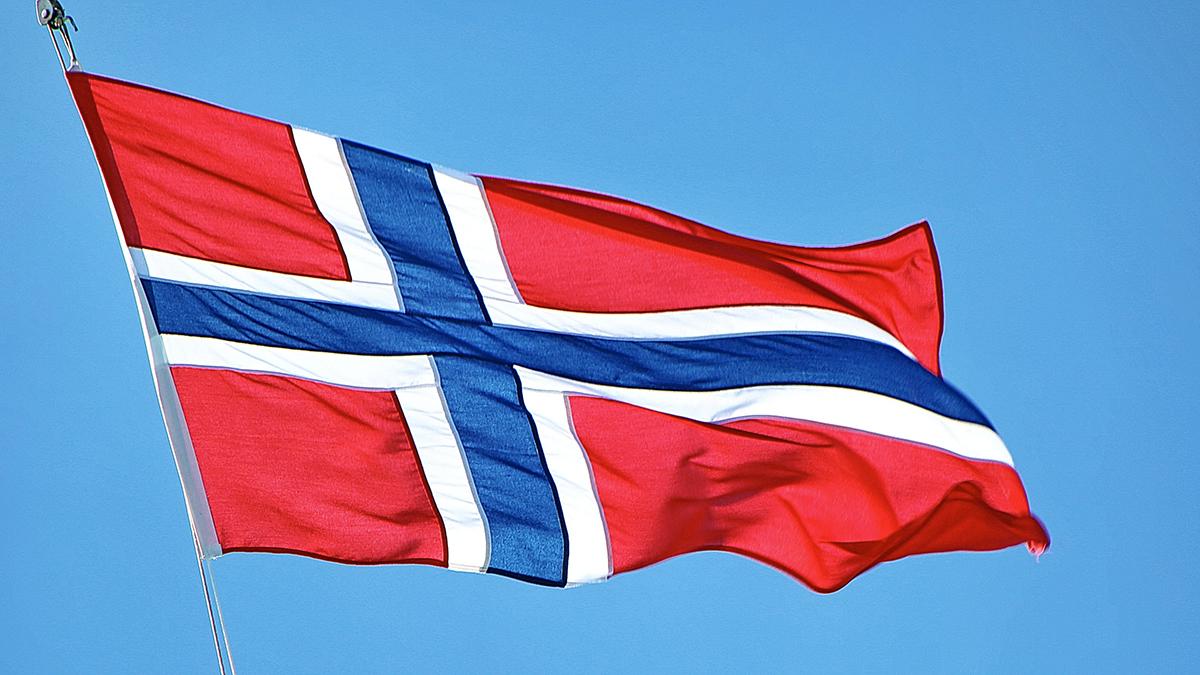 Bilde: Norsk flagg