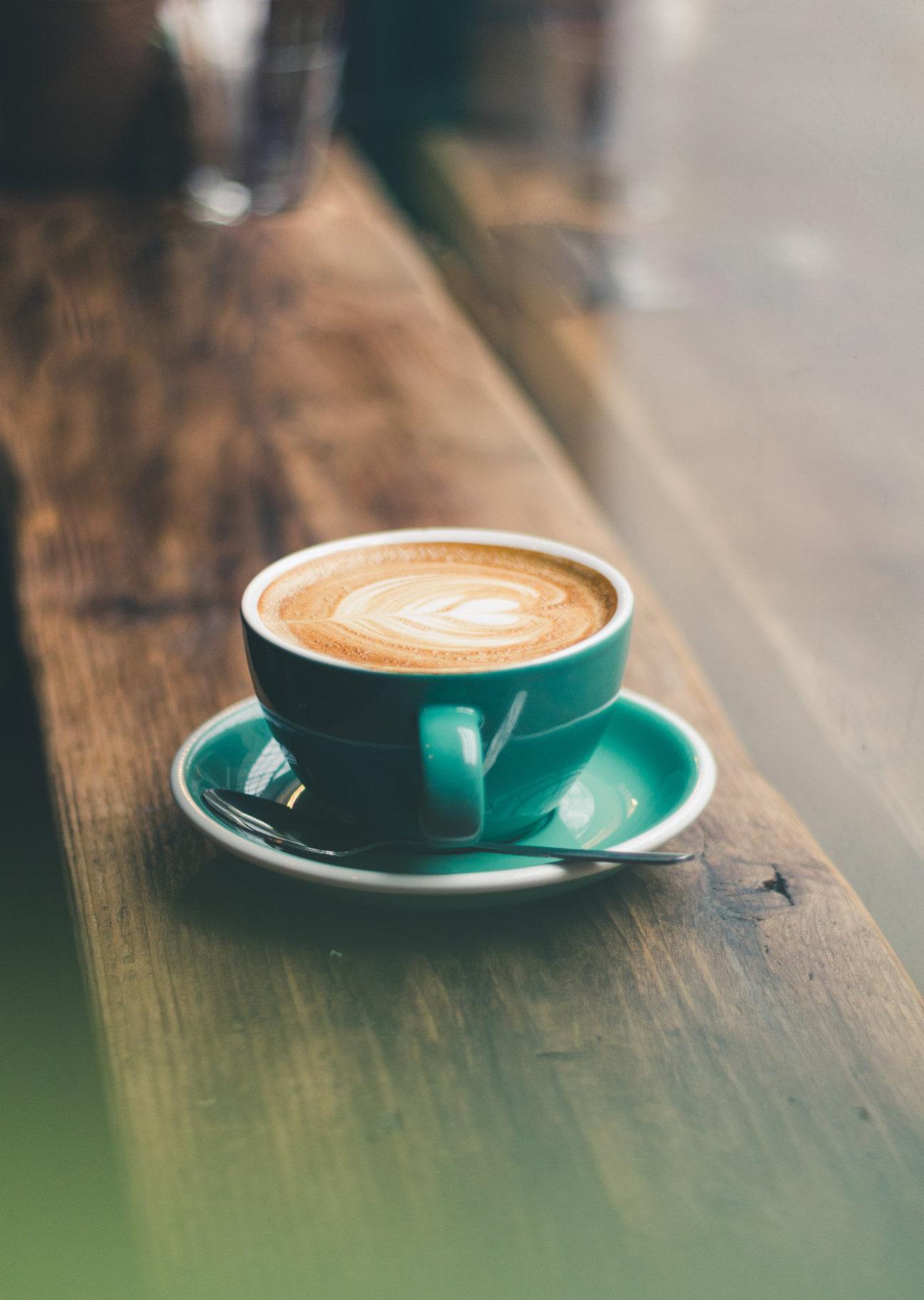 Leckerer Kaffee von Lilly's Café in Mühlhausen.