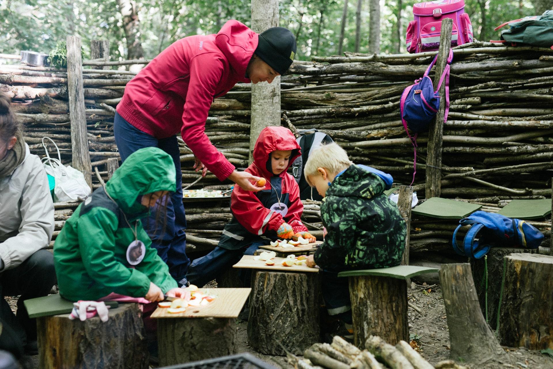 Ecole Edenpark - Une école originale - Un cadre où l'enfant découvre son identité