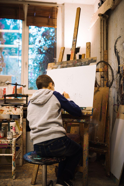 Ecole Edenpark - L'apprentissage des beaux-arts