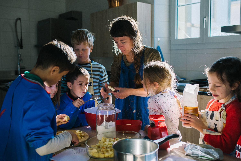Ecole Edenpark - L'apprentissage de tous les métiers