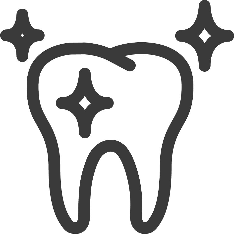 tooth and clipboard icon