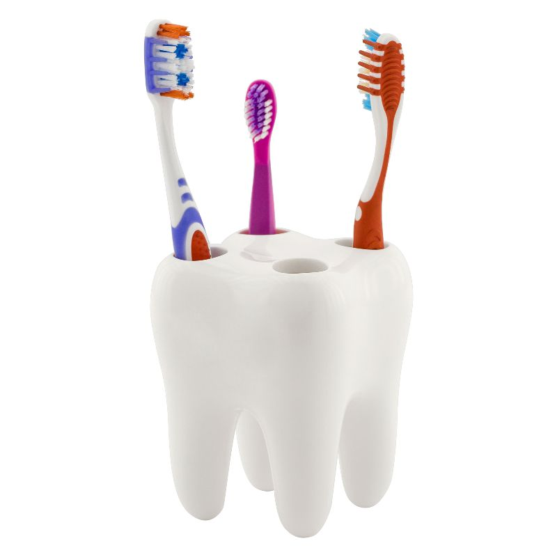adult and child toothbrushes