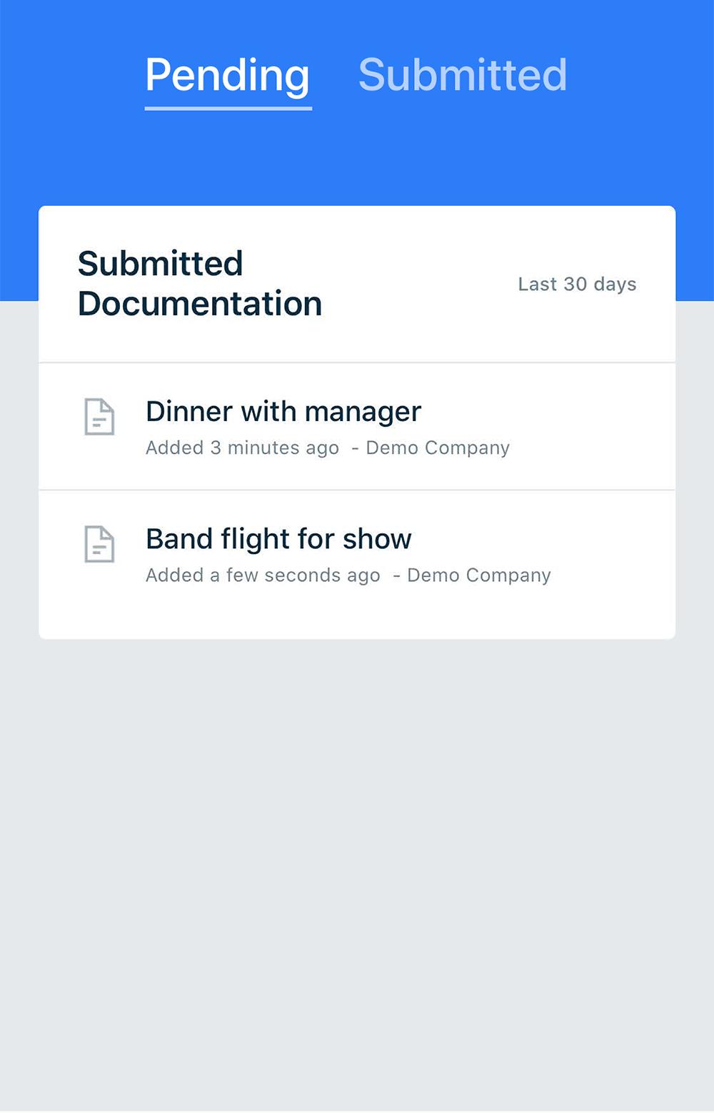 Receipt & Bill Sample Data From Leftbrain App