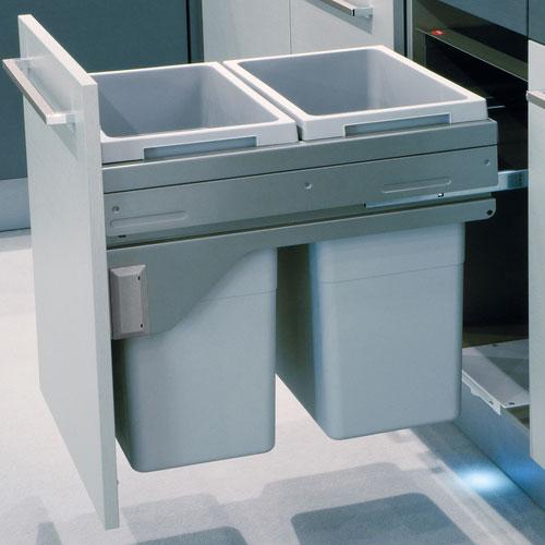 Hailo Euro Cargo Bin 500mm 2x35L
