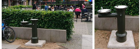 Dricksfontän på Hötorget, Borås