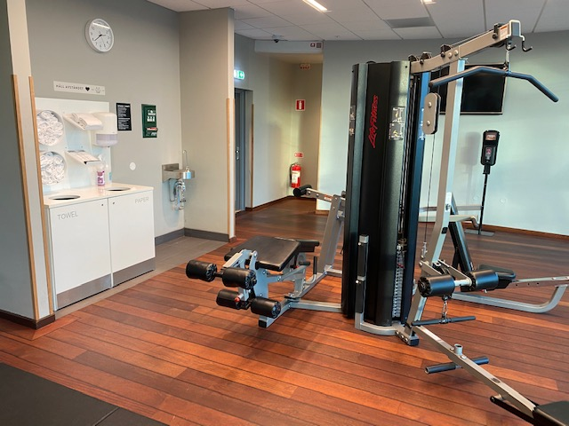 Scandic Hotell gym