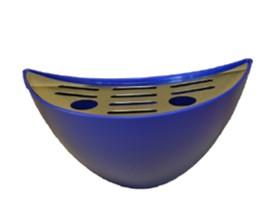 Spillbricka blå