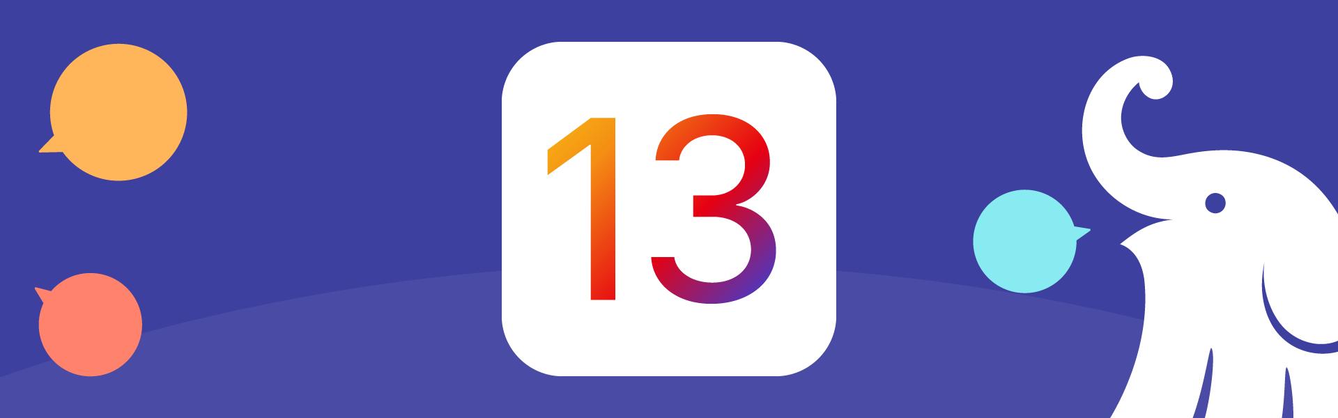 PressRelease iOS13