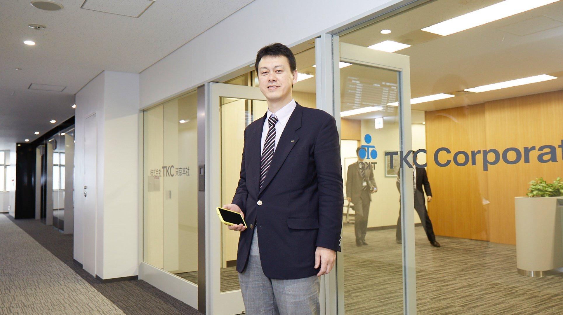 TKC 取締役 執行役員 システム開発研究所長 魚谷 仁司氏