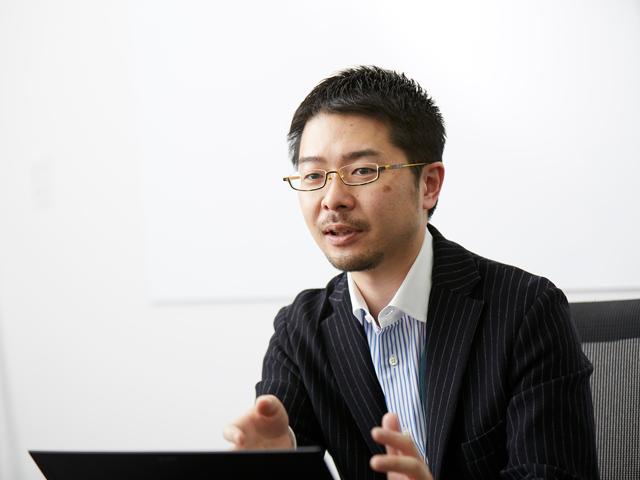 マーケティング本部 マーケティング部 ビジネス戦略チーム 内山正彦氏