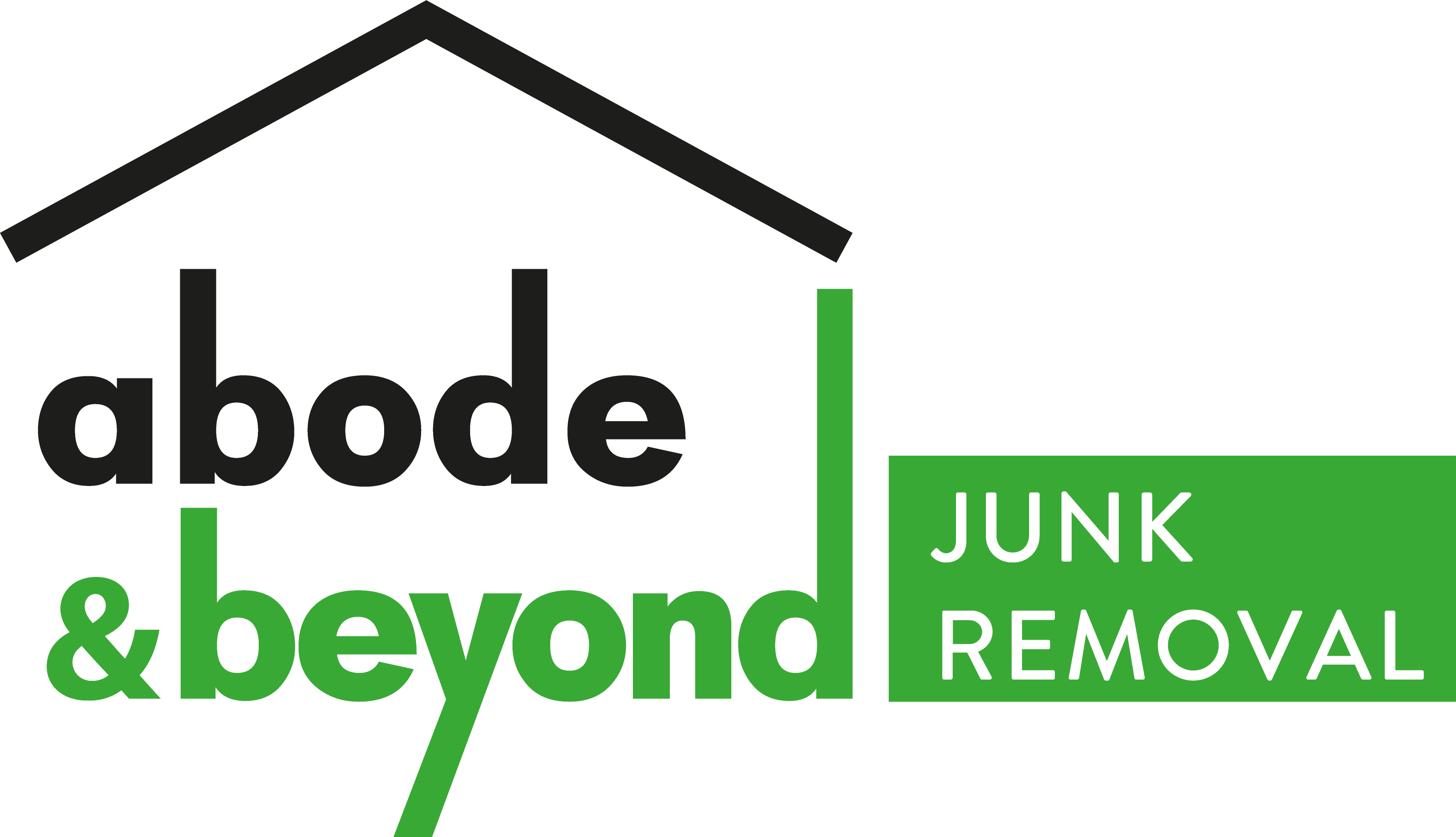 Abode and Beyond Junk Removal Logo