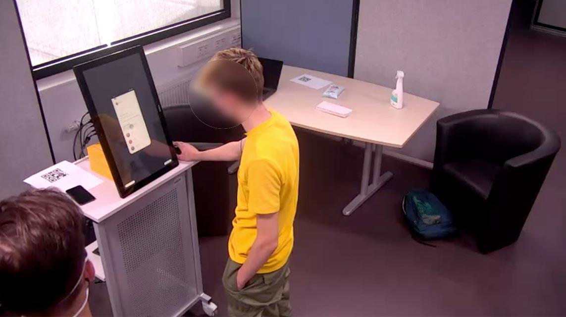 User Testing boy