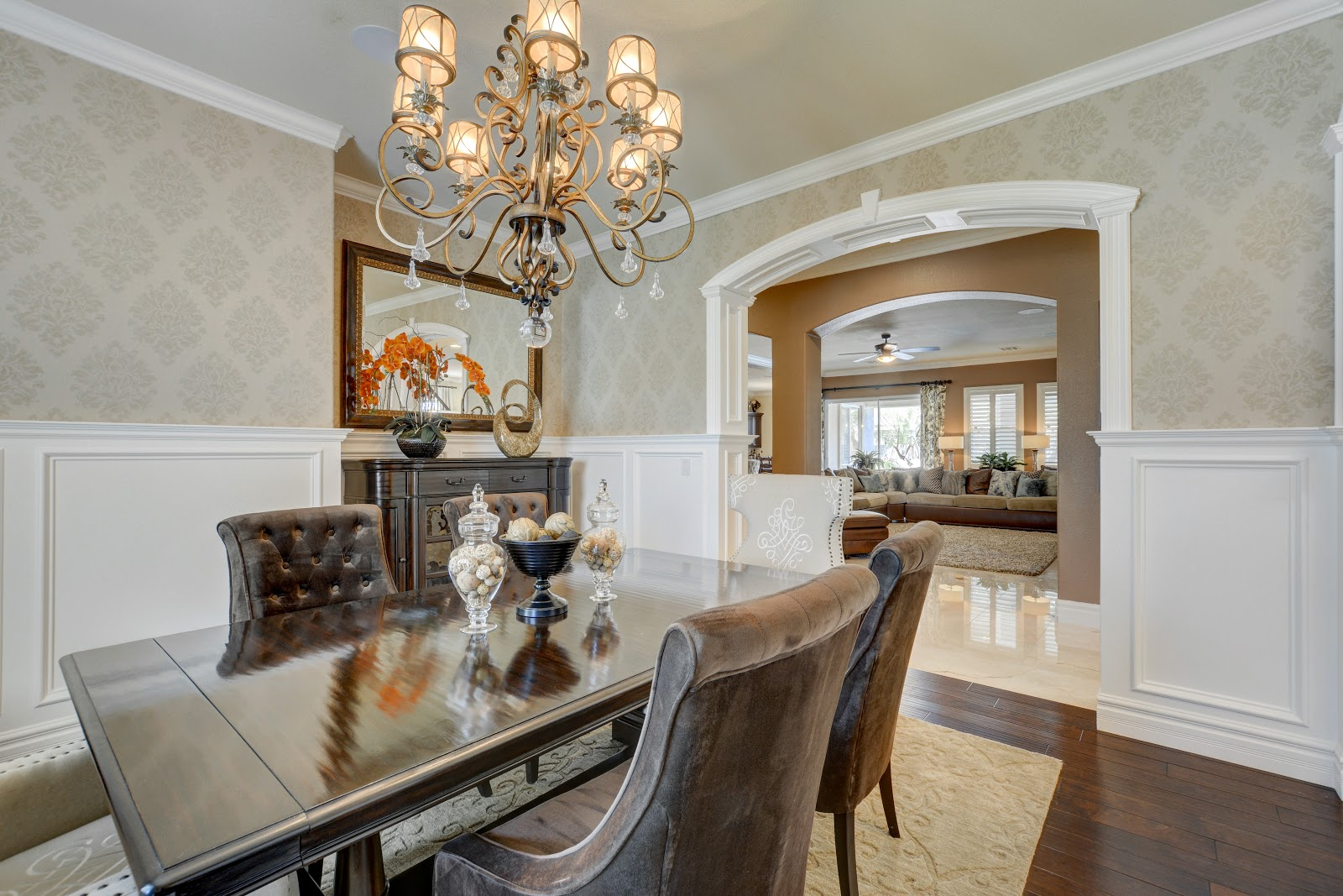 dining room home interior