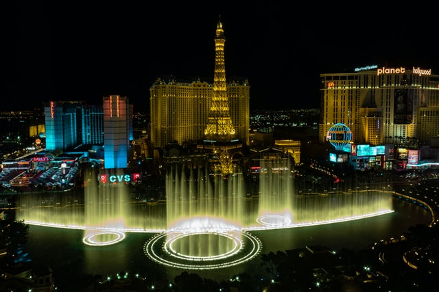 bellagio fountains las vegas, nev