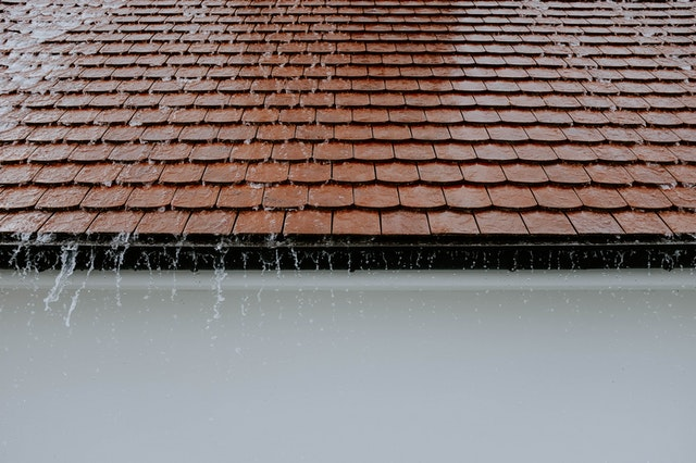 roofing with rain