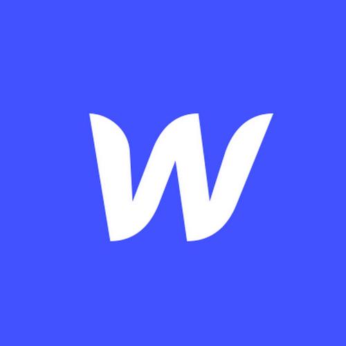 Webflow logo.