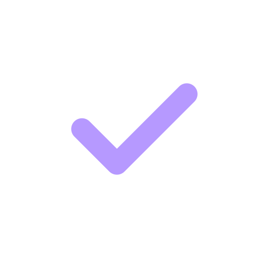A checkmark