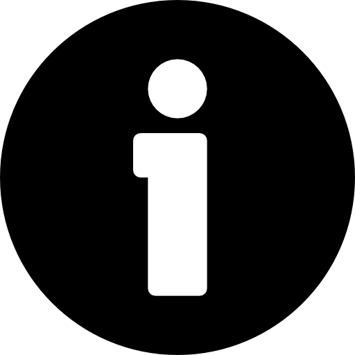 An information icon.