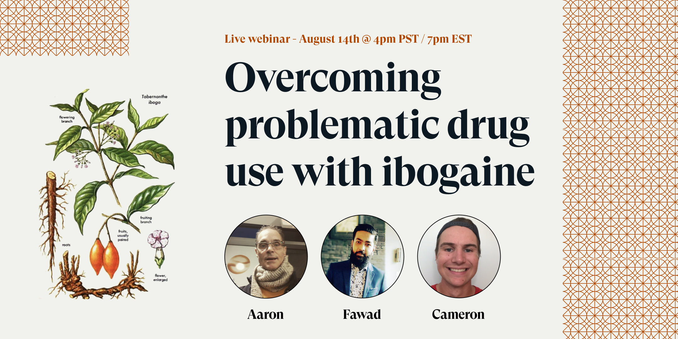 War on drugs webinar