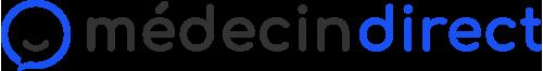 icône MédecinDirect bleue et noire