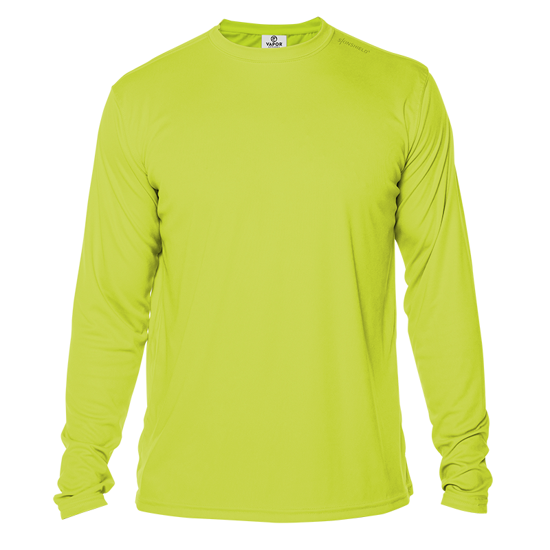 Long Sleeve Men - Safety Yellow