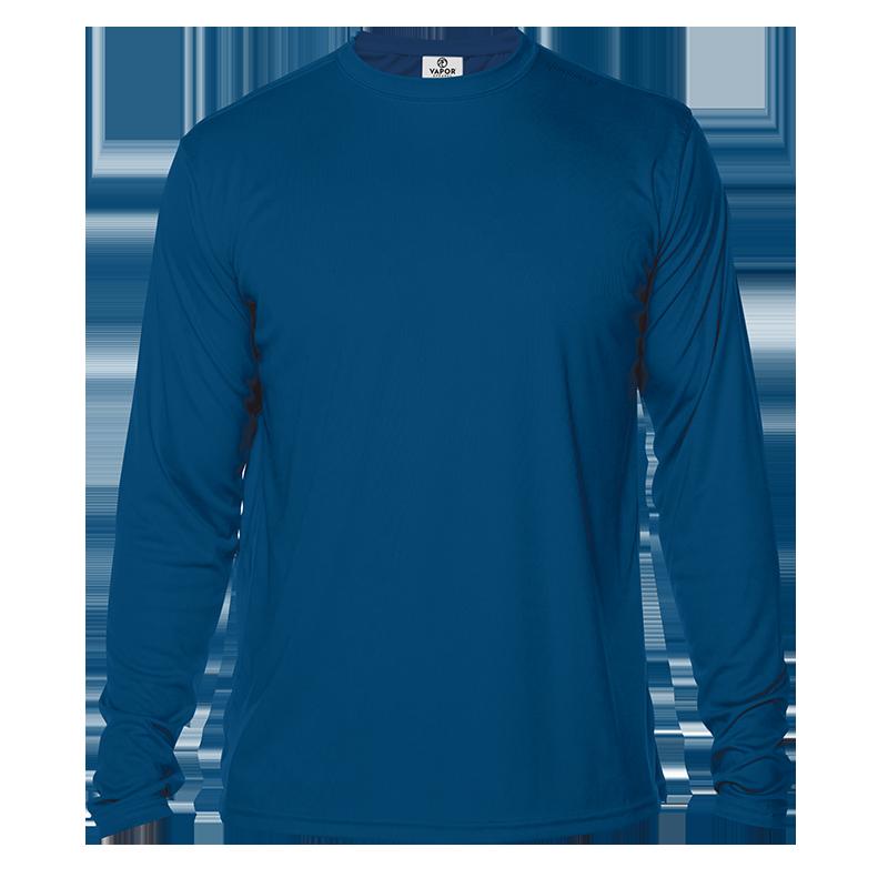 Long Sleeve Men - Royal blue