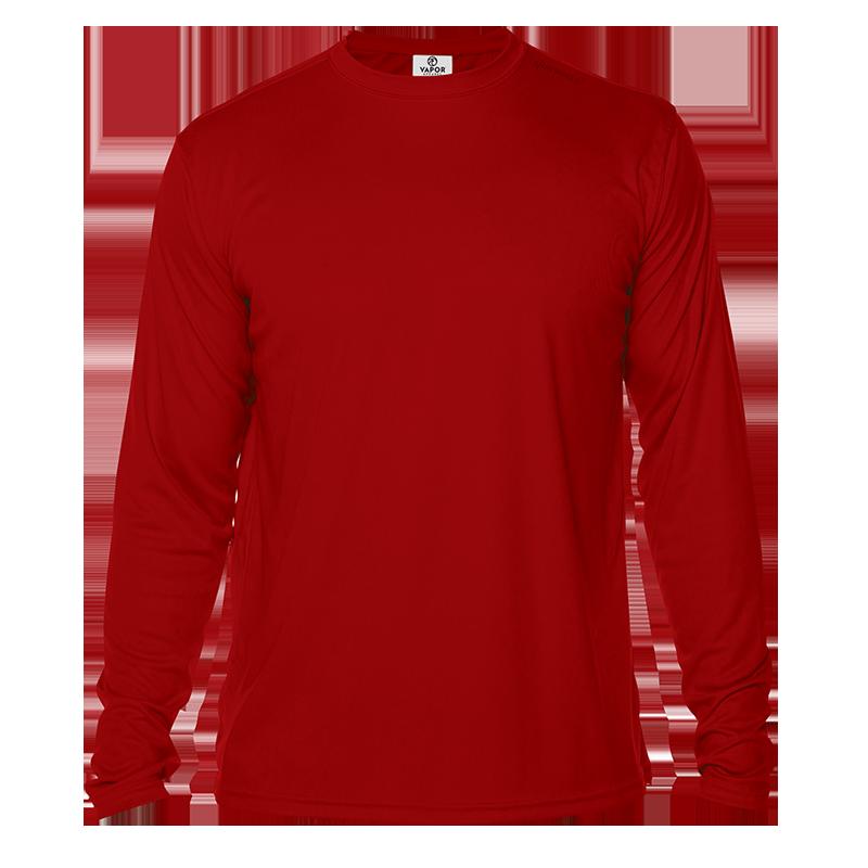Long Sleeve Men - Mars Red