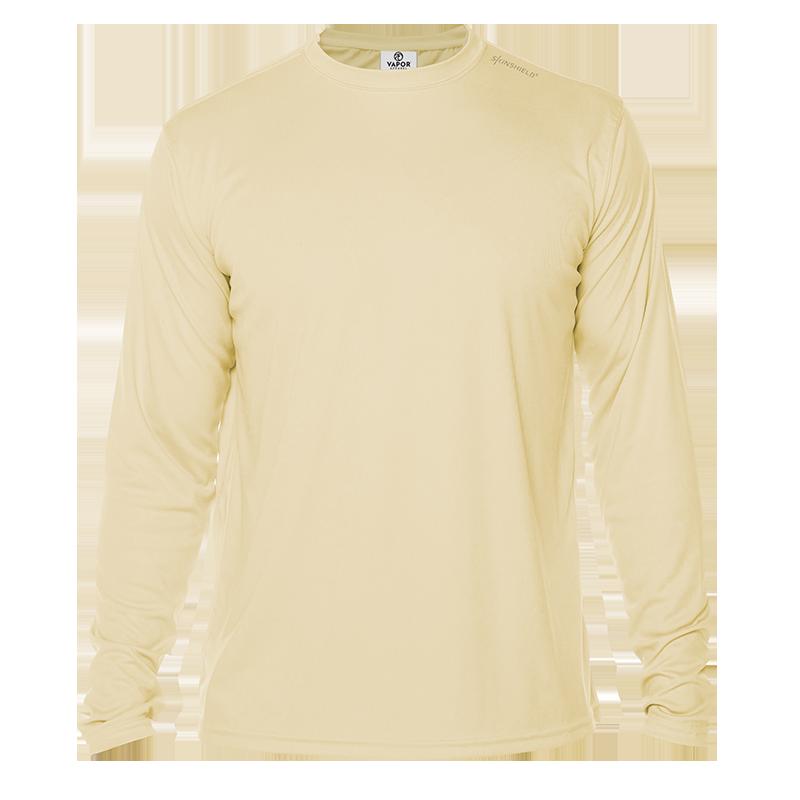Long Sleeve Men - Pale Yellow