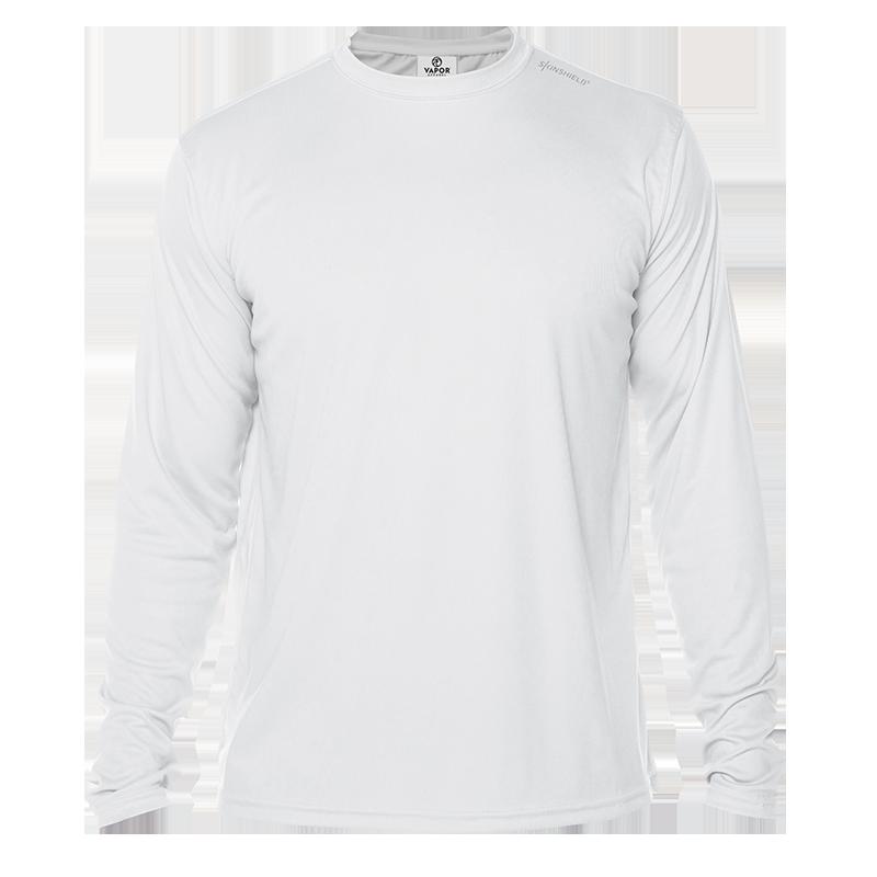 Long Sleeve Men - White